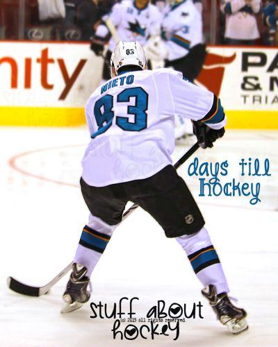 83 Matt Nieto Days Till Hockey Stuff About Hockey X Days Till