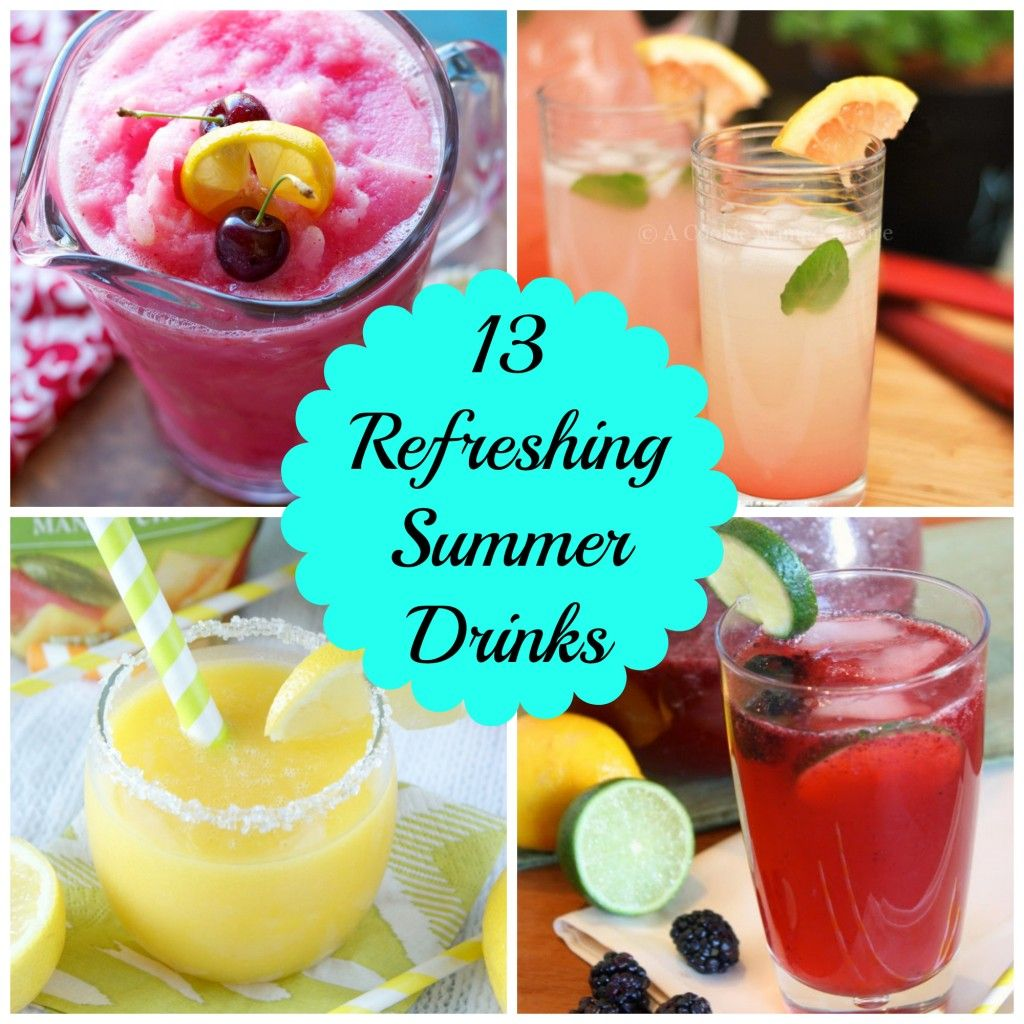 Love Pasta And A Tool Belt: 13 Refreshing Summer Drinks- Love, Pasta And A Tool Belt