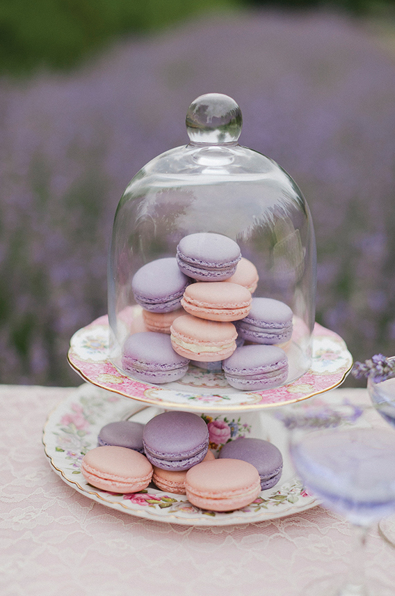 Shop the Look! Wedding Ideas with BHLDN | Macarons, Lavender and ...