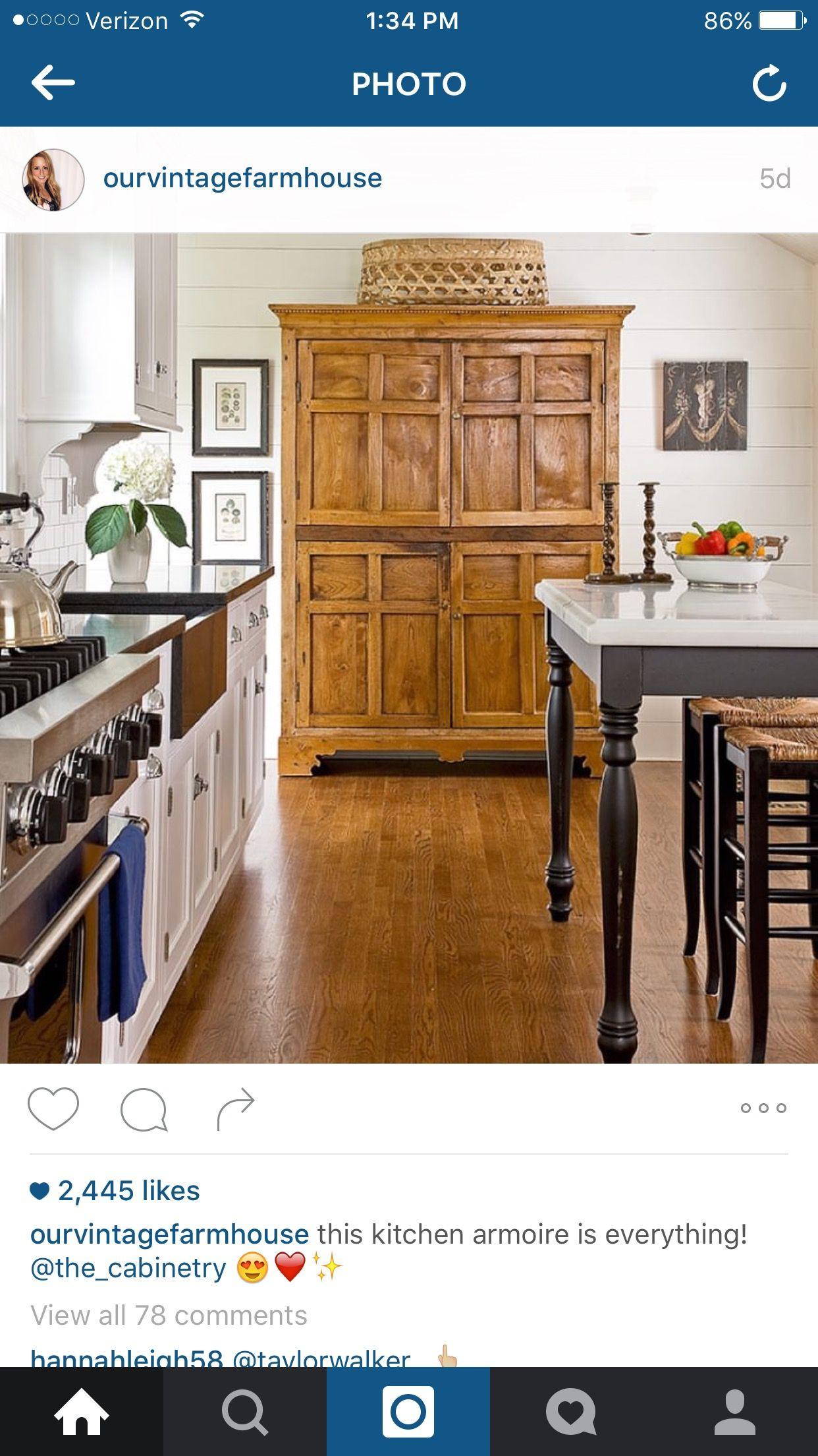 Pin By Marian Marriott On Dream House Dining Ikea Kitchen Design Kitchen Armoire Kitchen Style