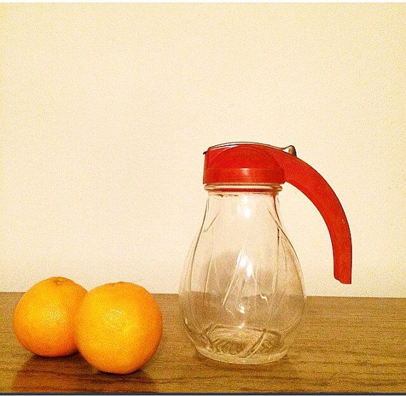 Vintage Syrup Dispenser by CarsonCottageCollect on Etsy