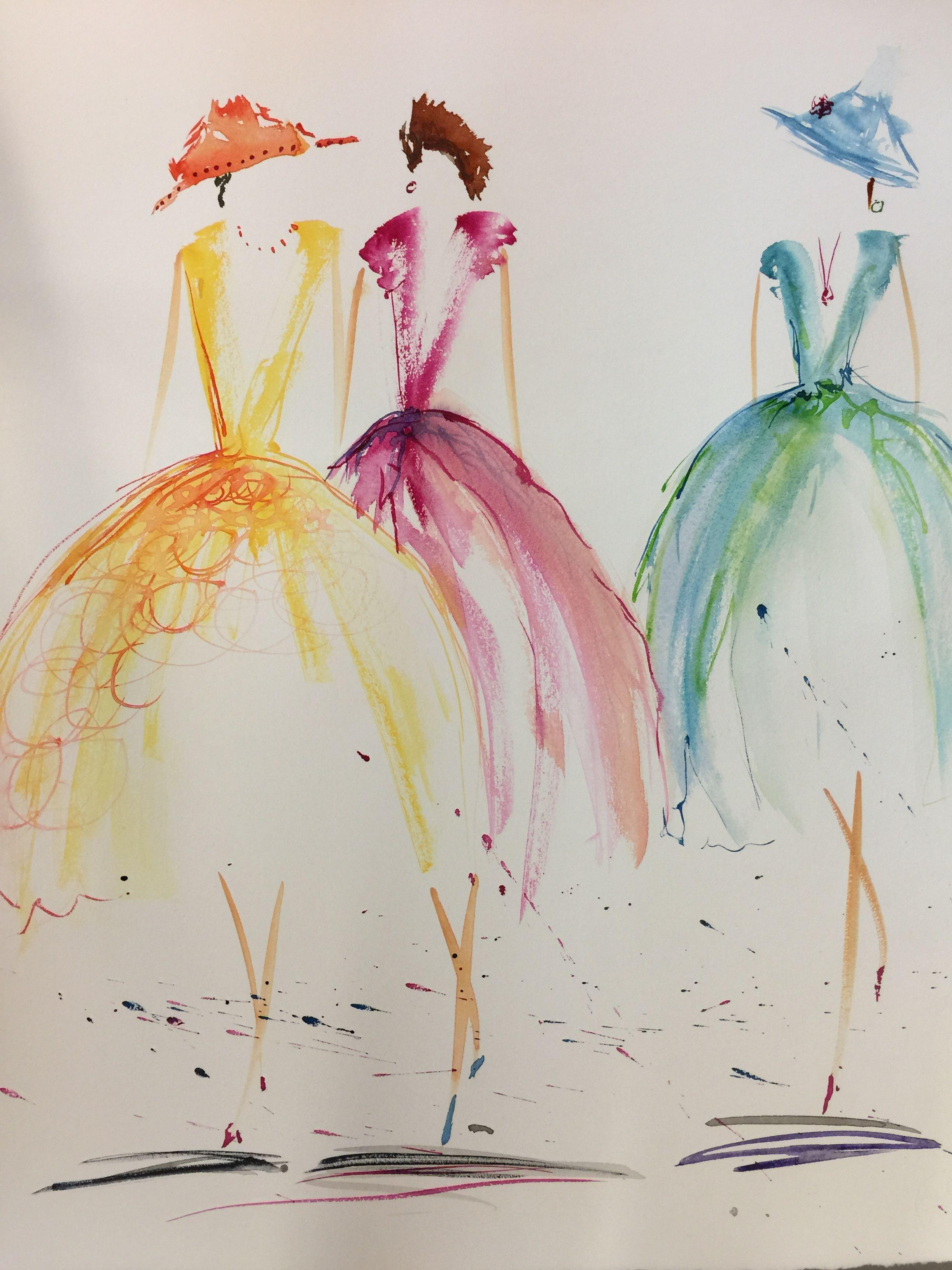 Claudia Kromer Watercolor Paintings For Beginners Watercolor