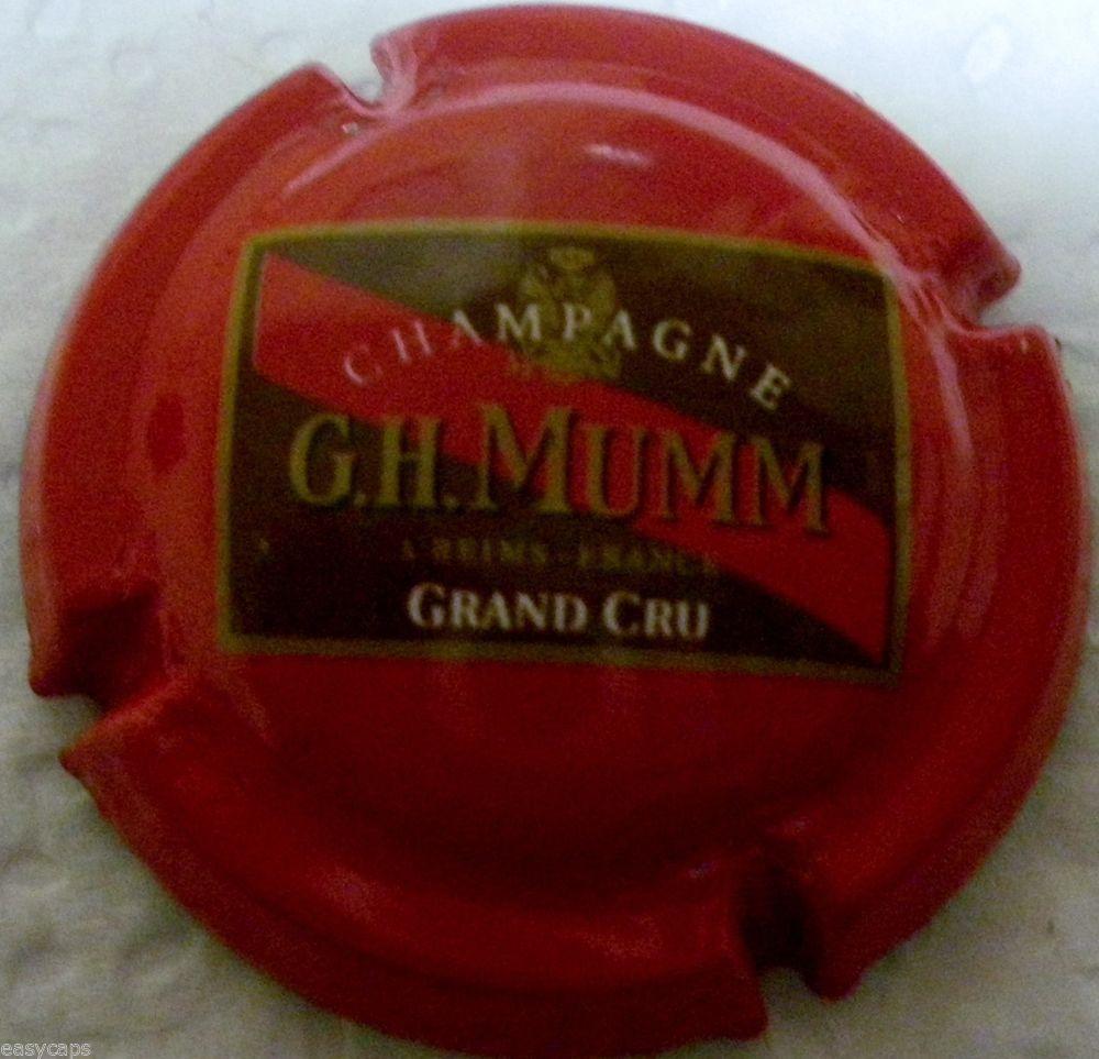 Capsule De Champagne Mumm N 140 Grand Cru Grand Cru Champagne