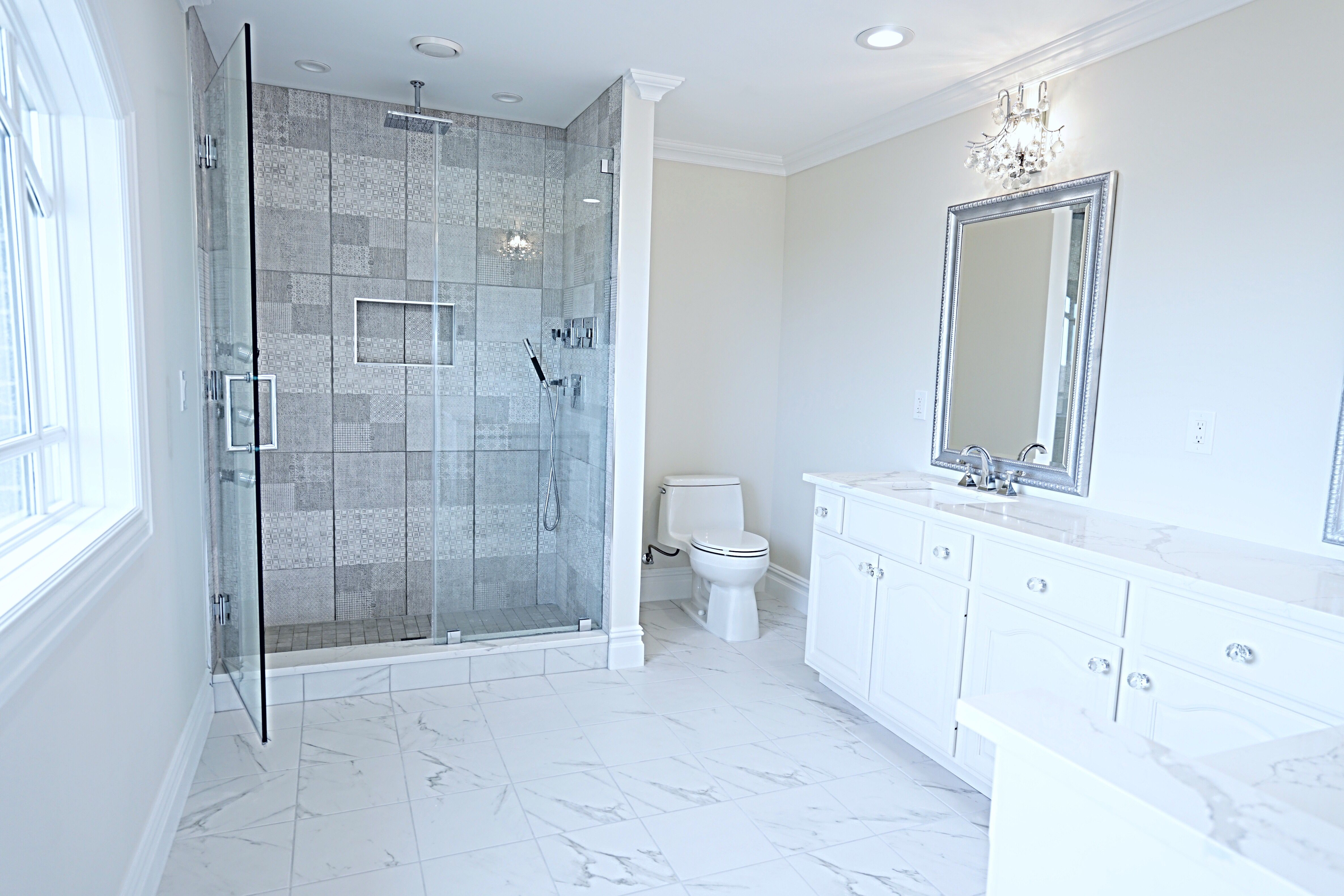 This Might Be Easy If You Have Previous Home Enhancement Experience If You Do Not Have Any Hous In 2020 Bathroom Floor Tiles Bathrooms Remodel Small Bathroom Makeover