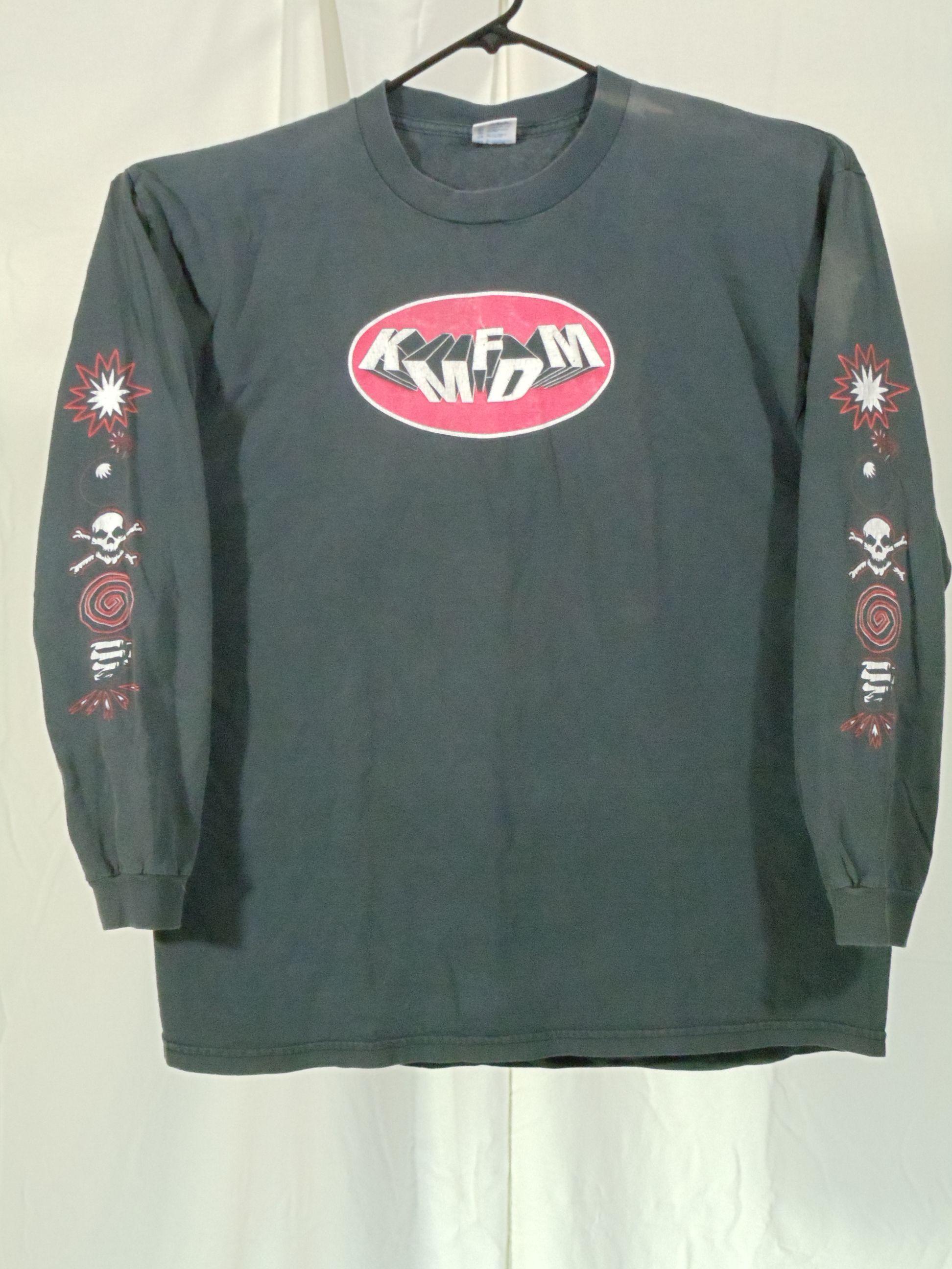 Kmfdm 1997 Symbols Tour 01 Concert Souvenir T Shirts