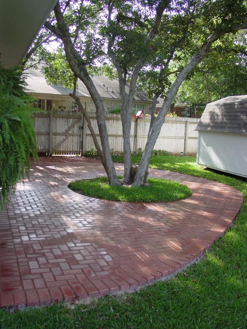 Patios Love The Tree In The Middle For Shade Worried 400 x 300