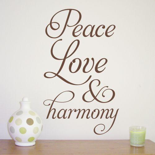 ≈ Peace, Harmony, Love ≈ | ❧ Harmony Thoughts ❧ | Pinterest ...