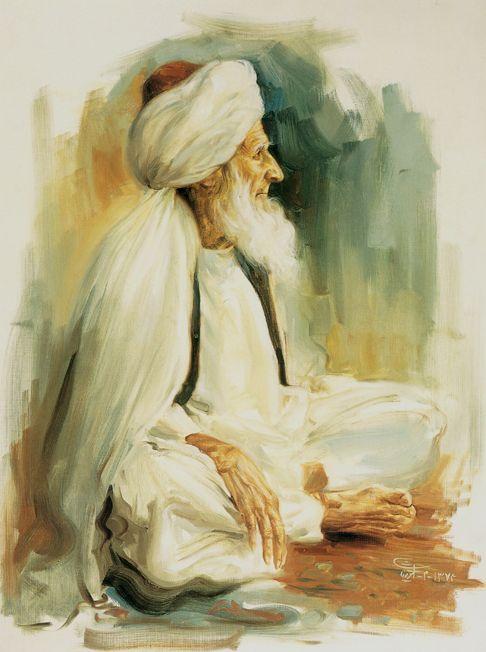 پیرمرد افغانی. (1374)Old Afghan. (1995)