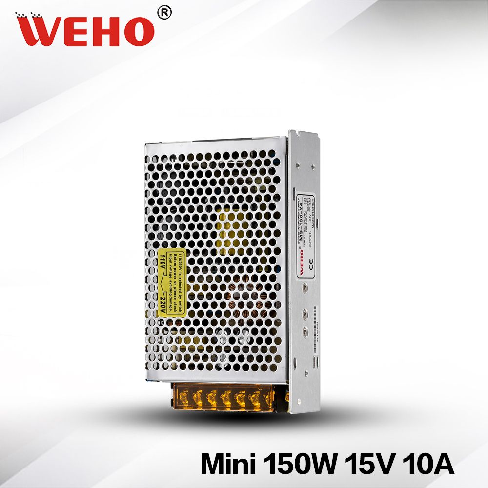 Ms 150 15 Ce Roh Smps 150w 15 Volt Mini Size Power Switching Supply Switched Mode Power Supply Power Supply 150w