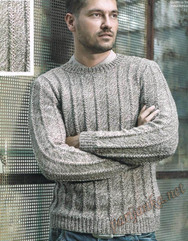 Пуловер | trico | Pinterest | Sueter hombre, Tejido y Suéteres