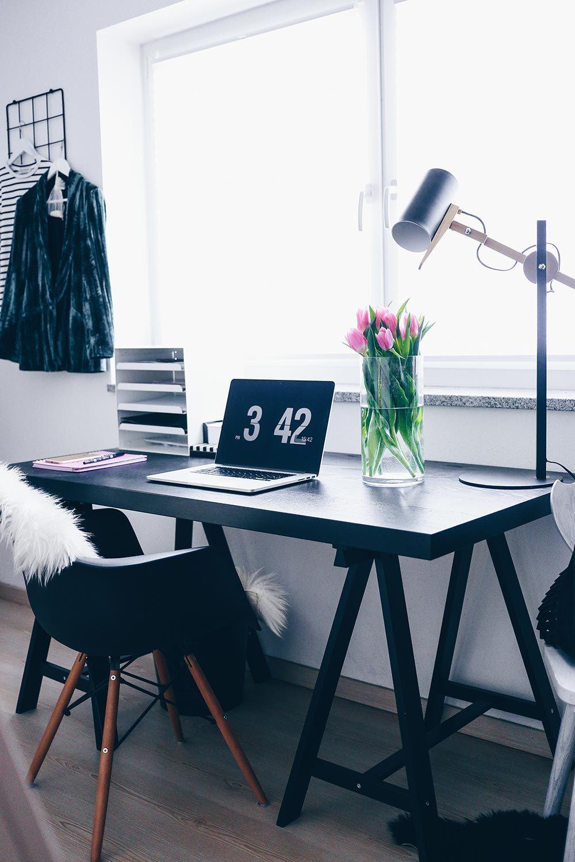 Mein Blogger Home Office: Stylisch, aber funktional | Design room ...