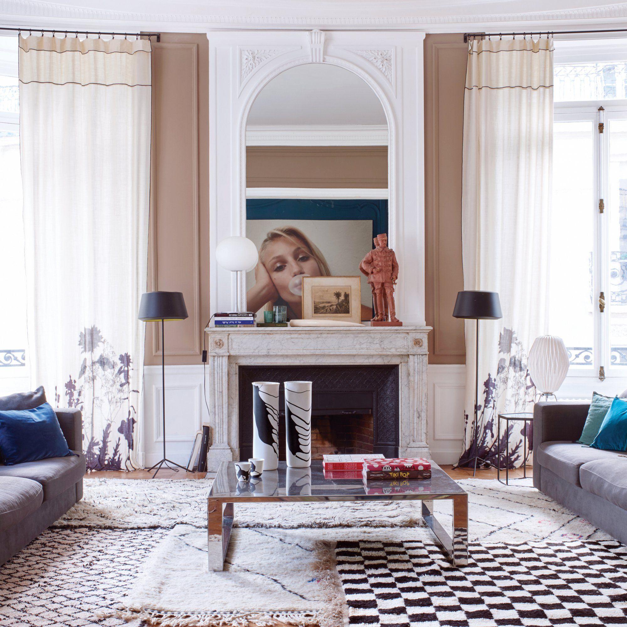 maison heureuse pour famille nombreuse salons. Black Bedroom Furniture Sets. Home Design Ideas