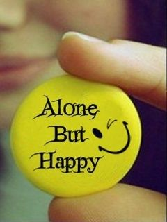 Alone But Happy Wallpaper Happy Alone Nice Dp For Whatsapp Happy Dp