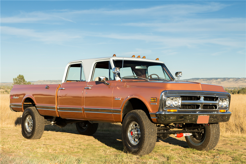 1970 gmc crew cab pickup old rides 4 pinterest gm trucks we sifted through barrett jacksons entire 2017 scottsdale docket and picked six oddball cars from the upcoming arizona sale sciox Image collections