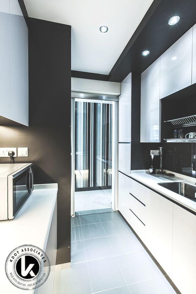 269 Punggol Field Traditional Hdb Interior Design Kitchen