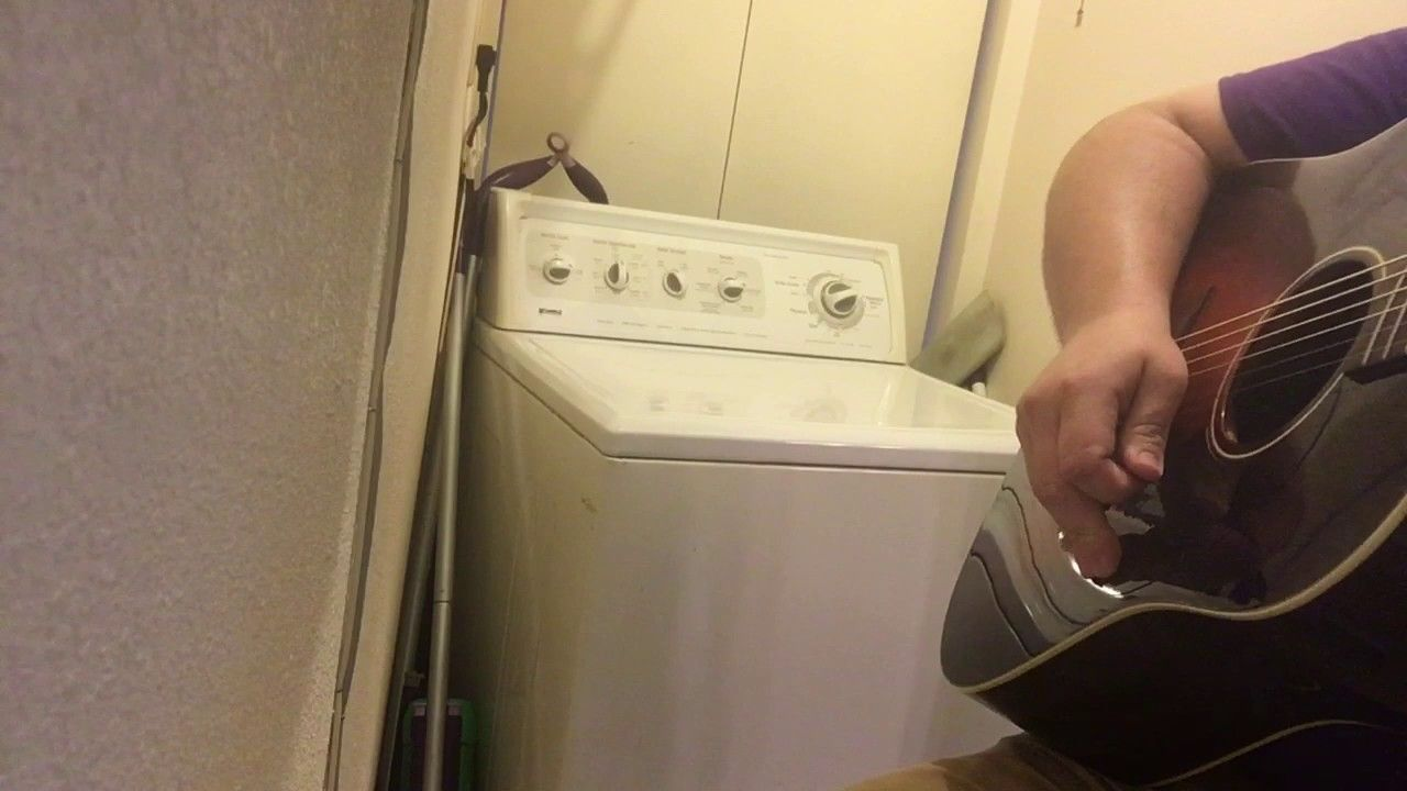The Devil Went Down To Georgia White Trash Washing Machine Cover