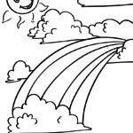 Ausmalbilder Regenbogen Ausmalbilder Ausmalen Malvorlagen