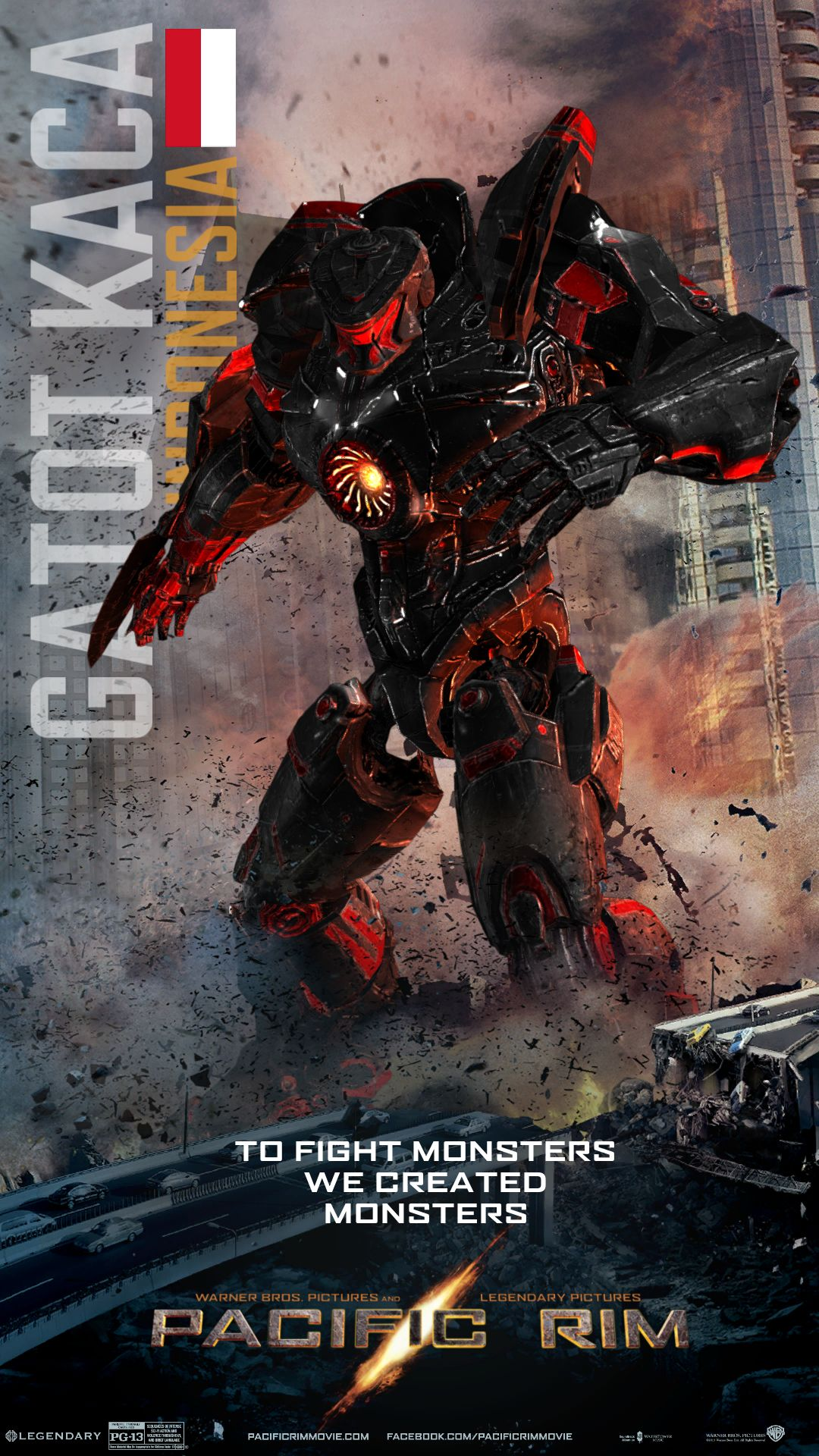 if indonesia has its own jaeger in the pac rim movie