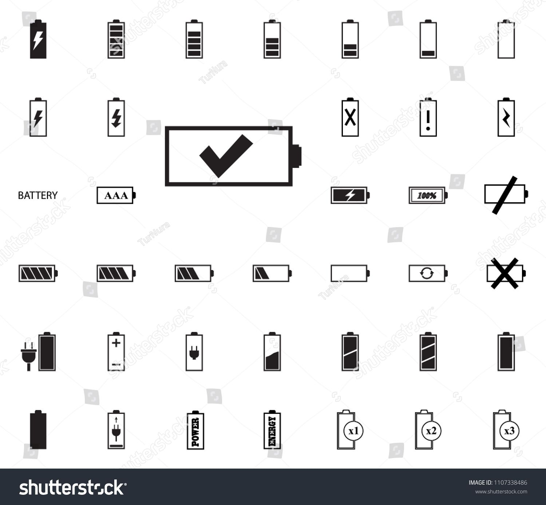 ok battery icon battery vector illustration icons set ad aff battery icon battery vector in 2020 battery icon vector illustration vector pinterest