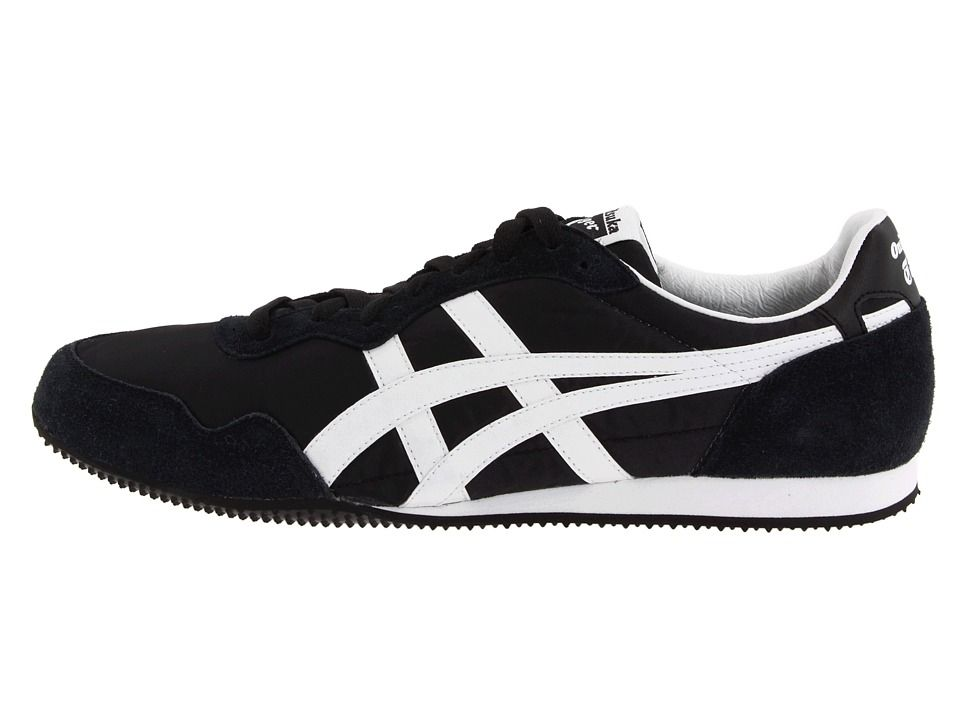 ca49d16f8dcb9a Onitsuka Tiger by Asics Serranotm Classic Shoes Zappos Exclusive! Black  White