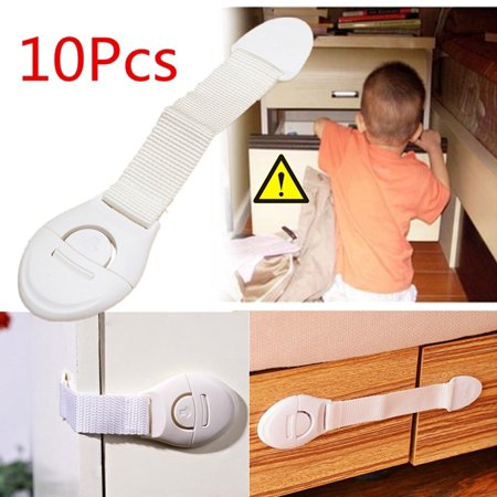 Toddler Baby Kids Child Safety Lock Proof Cabinet Drawer Fridge  Baby Products~~