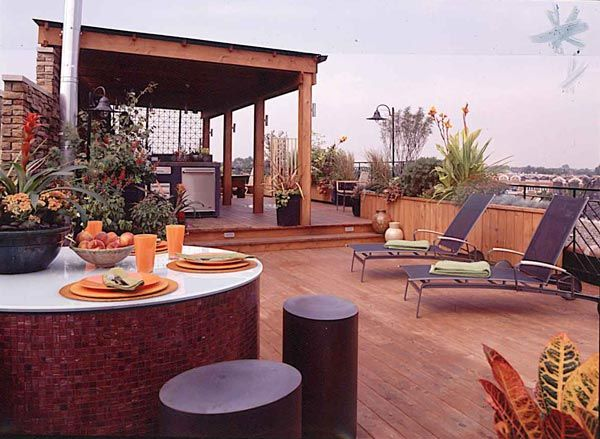 17 Best Images About Rooftop Deck Design On Pinterest | Rooftop