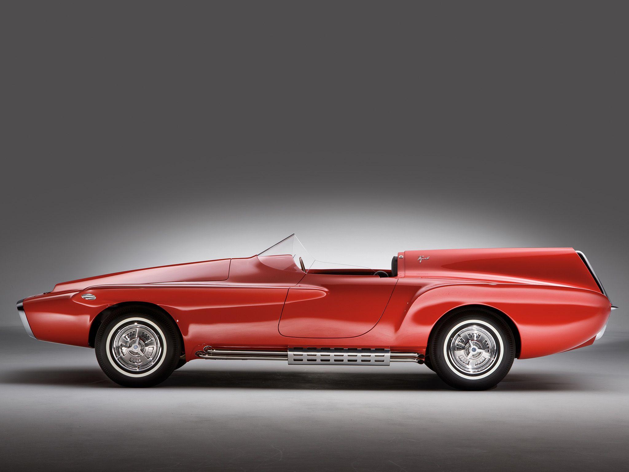 1960 Plymouth Xnr Concept Concept Cars Unique Cars Retro Cars