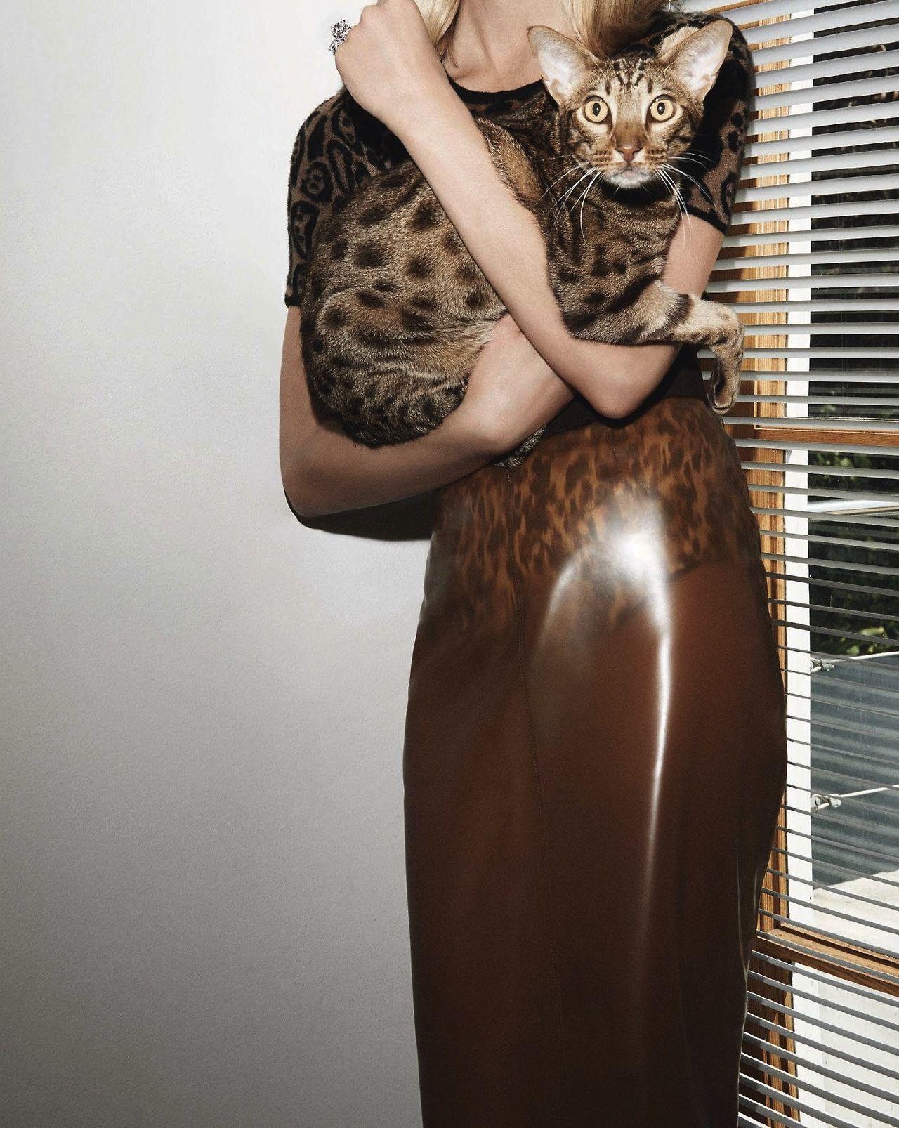 L.A. Confidential | Iselin Steiro by Glen Luchford for Vogue Paris November 2013.