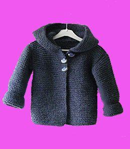 modele tricot gratuit garcon
