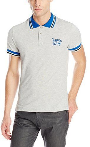 Versace Jeans Men's Slim Fit Pique Polo