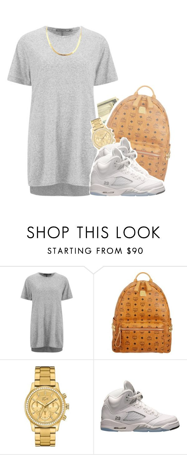 """""""7/31/2015"""" by kennedy-xoxo ❤ liked on Polyvore featuring rag & bone, MCM, Lacoste and Retrò"""