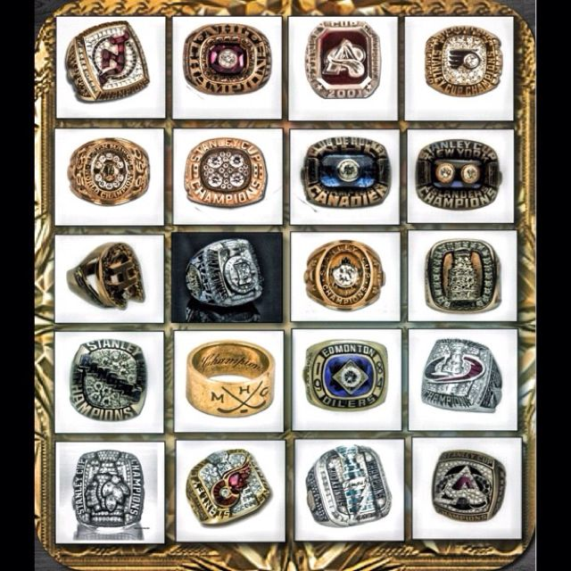 Some Nhl Stanley Cup Rings Stanley Cup Rings Stanley Cup Championship Rings