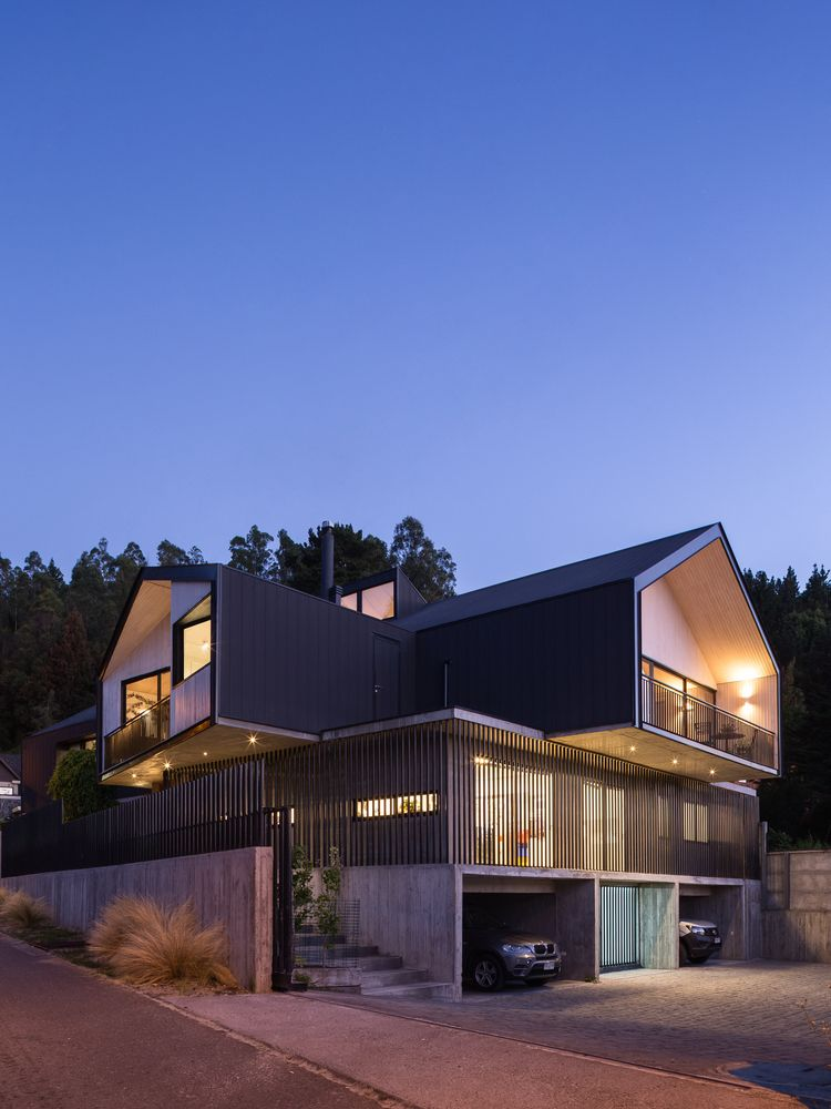 Gallery Of Casa Villuco Dx Arquitectos 6 With Images Modern Roofing House Roof Building Roof