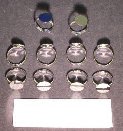 Buy Metallic Rings for mounting.