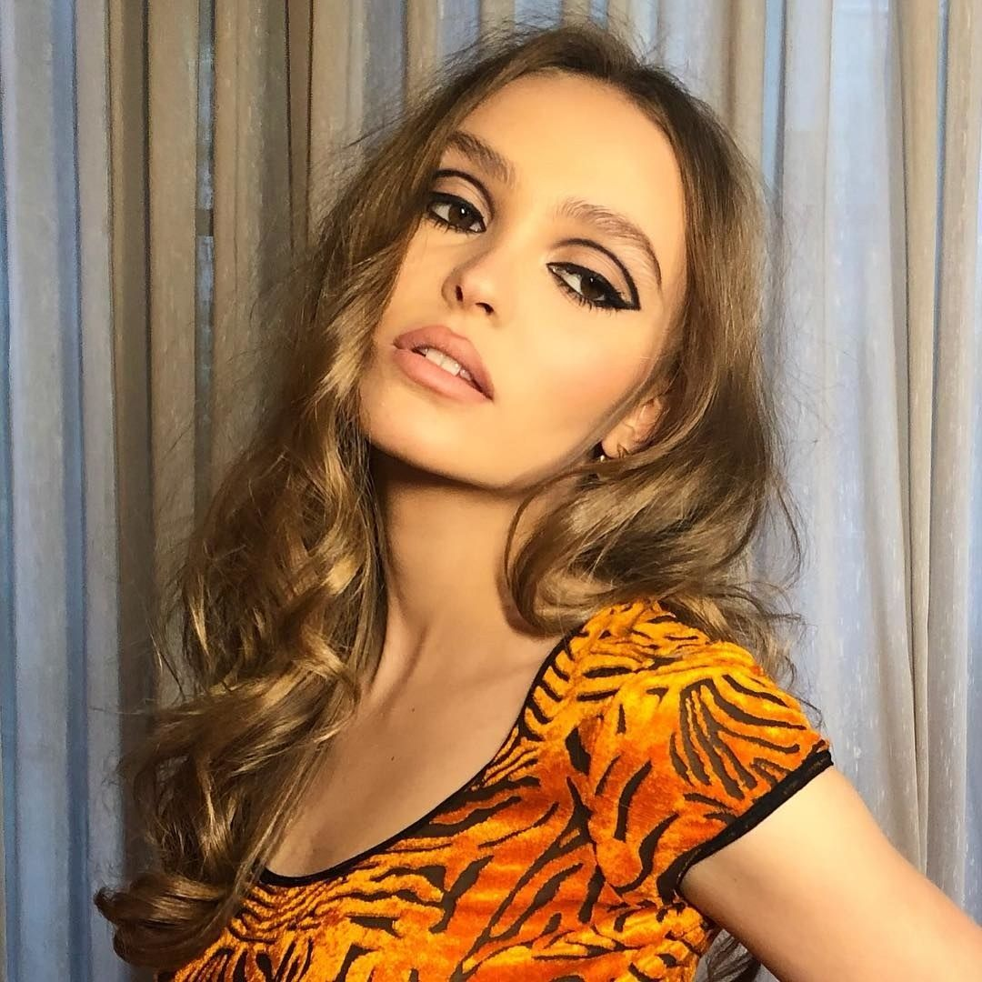 Lily-Rose Depp's Retro Liner Tops the Week's Best Beauty Looks on Instagram