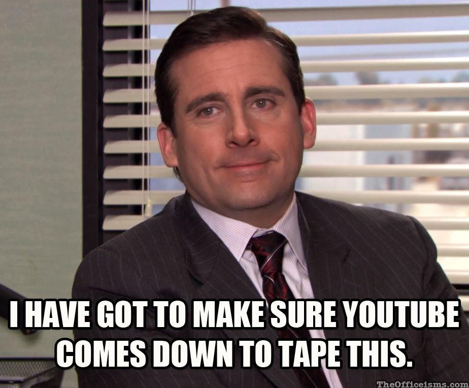 Darryl Dinkin Flicka Meme Oh, Michael. Nobody's Perfect