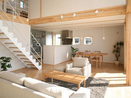Woonkamer Van Muji : Two new designs join muji prefab home line spaces
