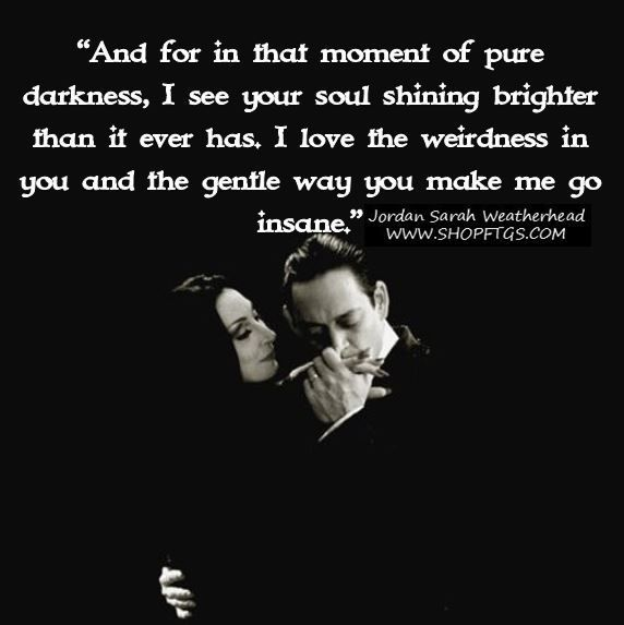 dark love quotes for him
