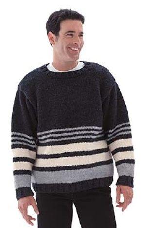 5cfc46f4b9de89 Image of Striped Pullover Sweater