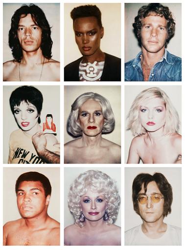 Andy Warhol Polaroids #andywarhol