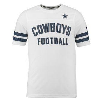 Nike Dallas Cowboys White Stadium Football T-Shirt  00e8116a4