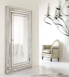 Wall Mounted Full Length Mirror Jewelry Armoire http