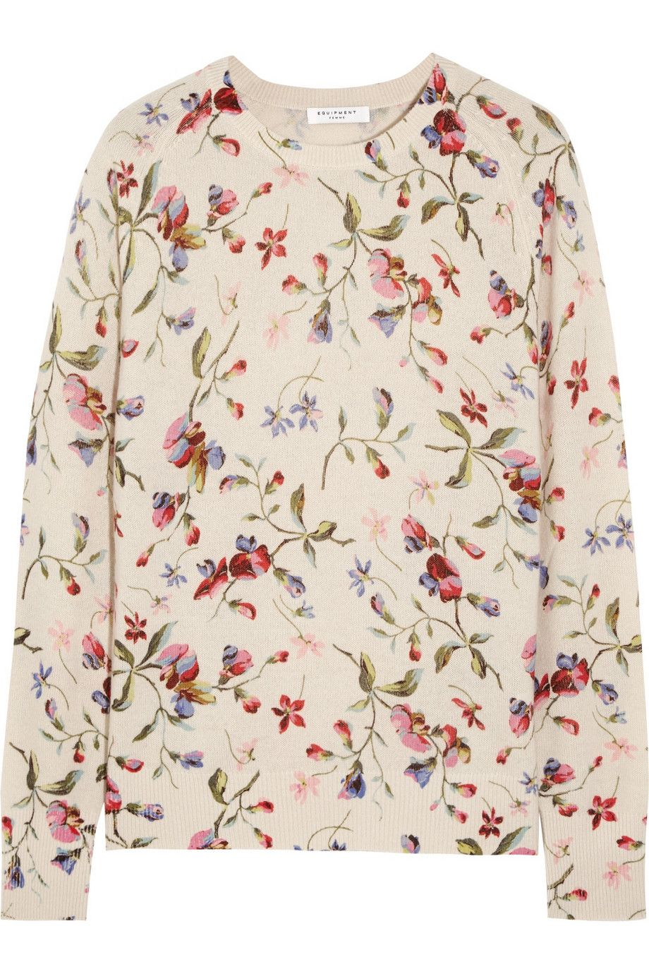 McQ Alexander McQueen Cropped jersey sweater | THE OUTNET | Print ...