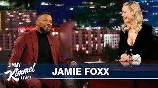 """Jamie talks about his daughter Corinne being in Jimmy and Norman Lear's revival of """"Good Times,"""" coaching his 11-year-old daughter Annalise's basketball team, addresses the rumors that he's on """"The Masked Singer,"""" and Brie and Jamie talk about...    #jimmy #jimmykimmel #jimmykimmellive #latenight #talkshow #funny #comedic #comedy #clip #comedian #meantweets #JamieFoxx #JustMercy #Dancing #BrieLarson #BryanStevenson #WrongfulIncarceration #MichaelBJordan #WalterMcMillan #ESPN"""