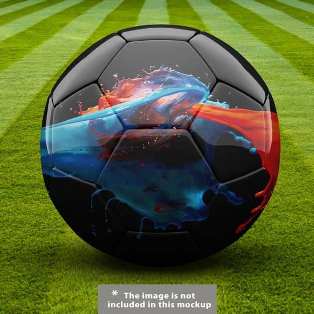 Download Football Ball Mock Up Design Download Thousands Of Free Photos On Freepik The Finder With More Than A Million Free Graphic R Football Ball Soccer Soccer Ball