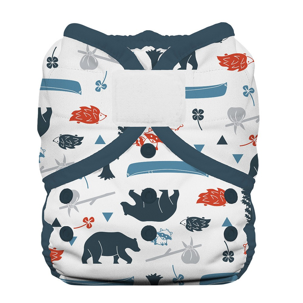 Thirsties Snap One Size Pocket Diaper Adventure Trail