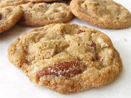 Salty-Sweet Butter Pecan Cookies - KAF   - Food -