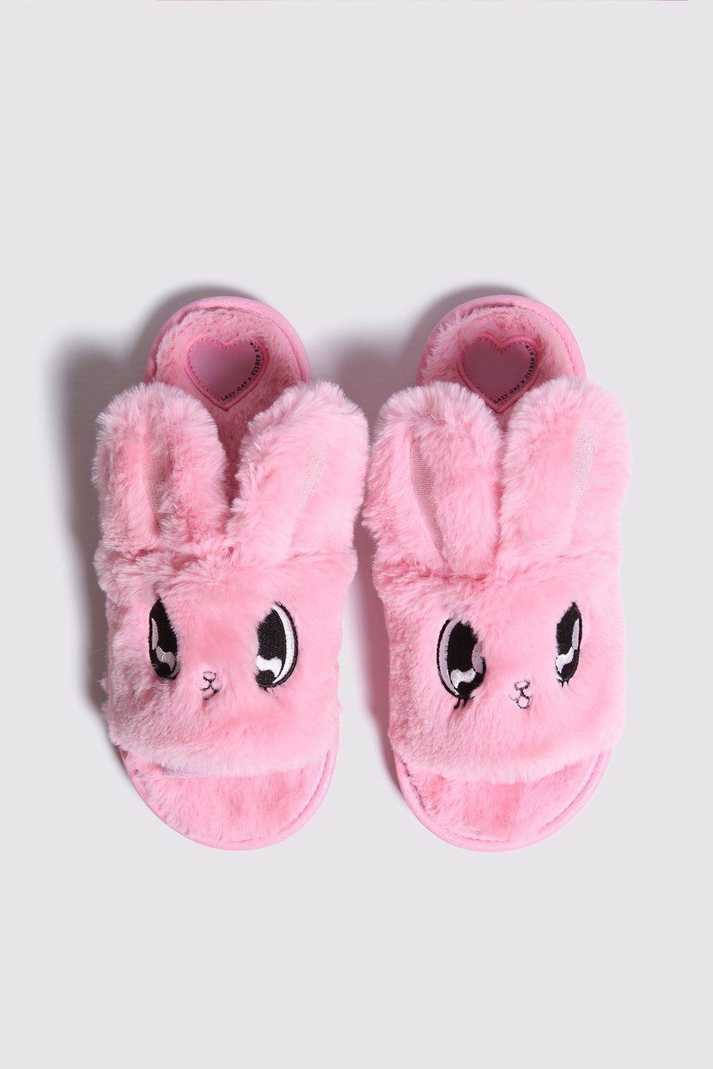 a2c1061024a0 Esther Loves Oaf Fluffy Bunny Slippers in 2019 | lo | Bunny slippers ...