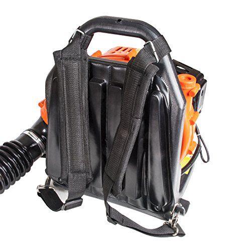 padded straps leaf blower