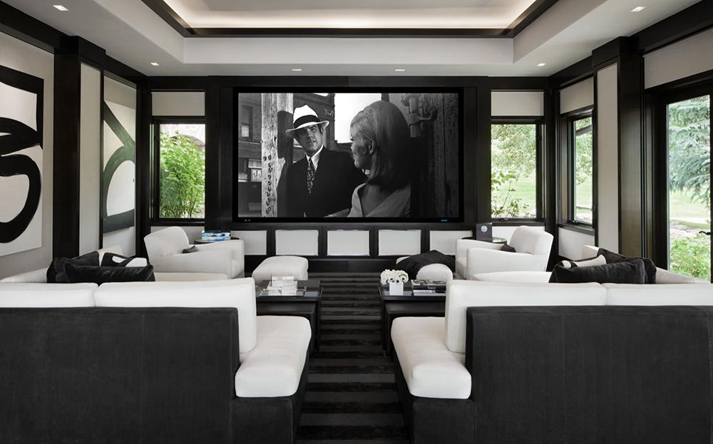 Beautiful Home Movie Theater Decor Media Room Home Cinema Room Home Theater Design Home Theater Rooms